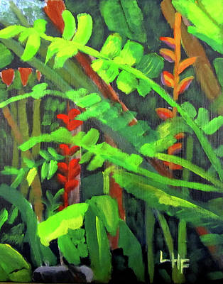 Painting - Rain Forest Memories by Linda Feinberg