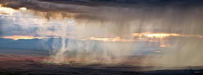 Photograph - Rain by Leland D Howard
