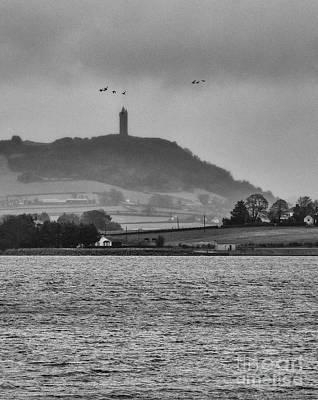 Photograph - Rain Over Strangford Lough by Jim Orr