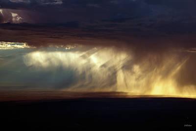 Basin Wall Art - Photograph - Rain Storm by Leland D Howard