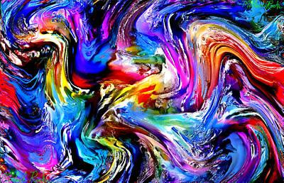 Rainbow Abstract Original