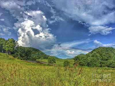 Photograph - Rainbow At Hungry Mother State Park by Kerri Farley