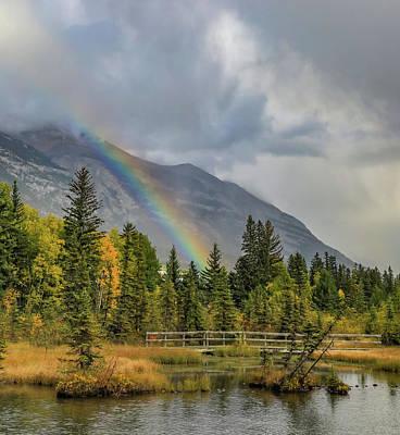 Just Desserts - Rainbow Bridge In Autumn by Dan Sproul
