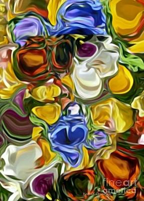 Digital Art - Rainbow Bright by Kathie Chicoine