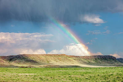 Photograph - Rainbow Butte by Todd Klassy