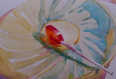 Painting - Rainbow Lolly  by Jo Mackenzie