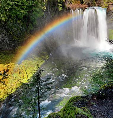 Photograph - Rainbow Mist by Leland D Howard