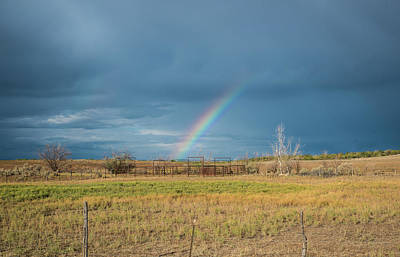 Photograph - Rainbow Northwest Of Cortez by Tom Cochran