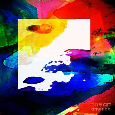 Digital Art - Rainbow Of Color Abstract Artwork By Delynn Addams For Home Decor by Delynn Addams