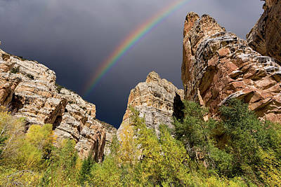 Photograph - Rainbow Over Sheep Creek by Kathleen Bishop