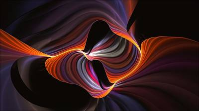 Digital Art - Rainbow Serpent-2 by Doug Morgan
