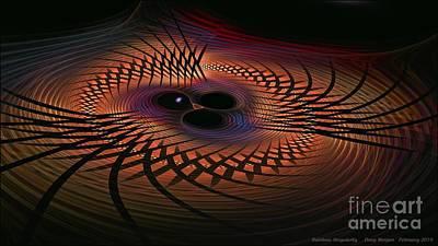 Digital Art - Rainbow Singularity by Doug Morgan