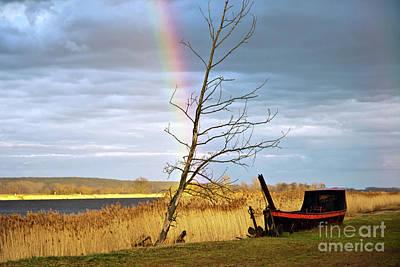 Photograph - Rainbow Sound Over The River Oder by Silva Wischeropp