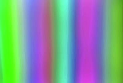 Photograph - Rainbow Straws by Jeff Brunton