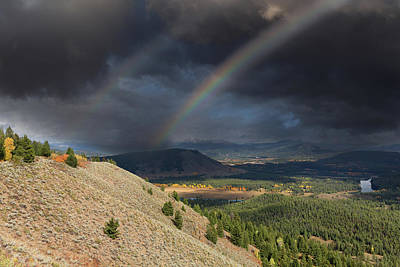 Photograph - Rainbows Over Jackson Hole by Kathleen Bishop