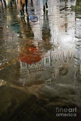 Photograph - Raining Evening In Florence Italy by Wayne Moran