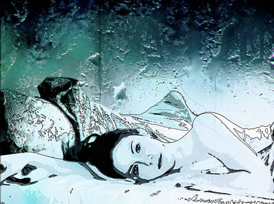 Digital Art - Rainy Day by Jason Casteel
