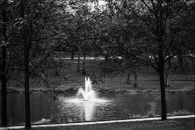 Photograph - Rainy Fall Monday by Edward Peterson