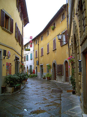 Photograph - Rainy Morning In Tuscany by Mark Duehmig