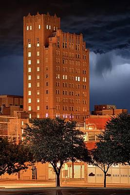 Photograph - Rainy Night In Abilene by JC Findley
