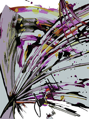 Digital Art - Rake by Jimmy Williams