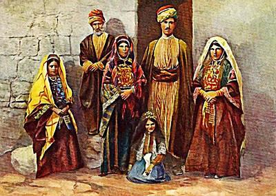 Photograph - Ramalla Family by Munir Alawi