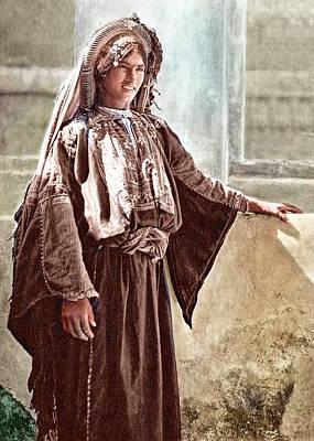 Photograph - Ramallah Woman by Munir Alawi