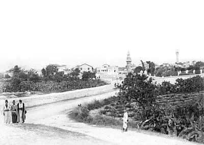Photograph - Ramleh 1887 by Munir Alawi