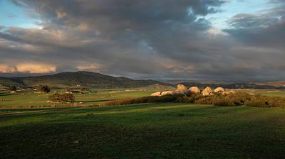 Photograph - Ramona Grasslands Valley by William Dunigan