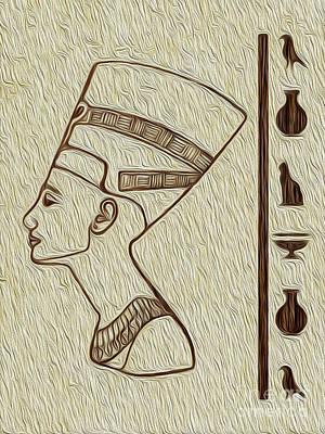 Digital Art - Ramses Egyptian Fine Art by Kenneth Montgomery