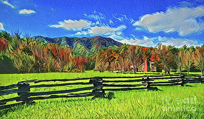 Painting - Ranch A18-43 by Ray Shrewsberry