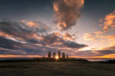 Photograph - Rapa Nui Moai by Photography by KO