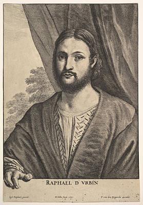 Drawing - Raphael  by Wenceslaus Hollar