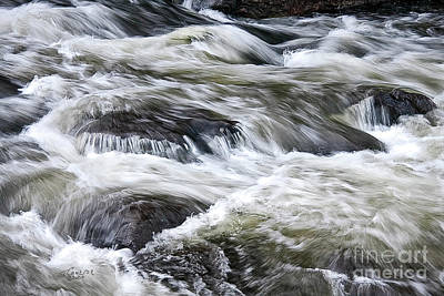 Photograph - Rapids At Satans Kingdom by Tom Cameron