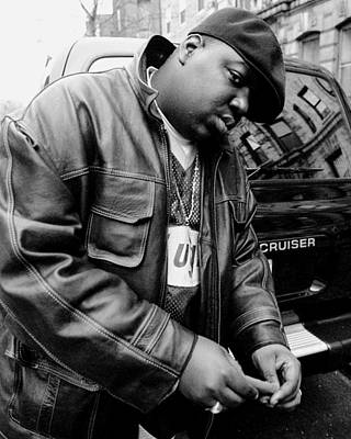 Photo Shoot Photograph - Rapper Notorious B.i.g., Aka Biggie by New York Daily News Archive