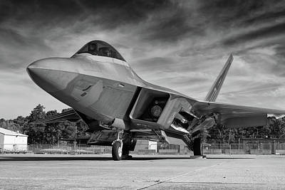 Photograph - Raptor Front Quarter View by Chris Buff