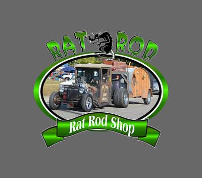 Photograph - Rat Rod Westfall by Mobile Event Photo Car Show Photography