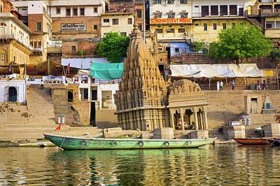 Photograph - Ratneshwar Mahadev Temple by Gary Gillette