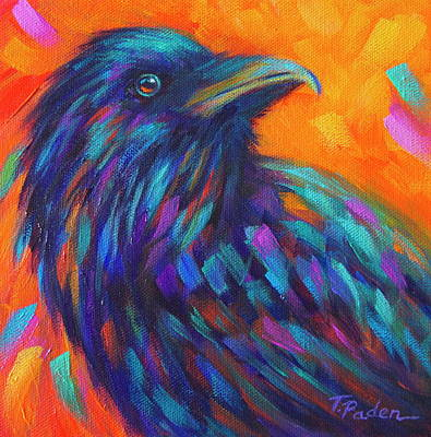 Wall Art - Painting - Raven's Watch by Theresa Paden