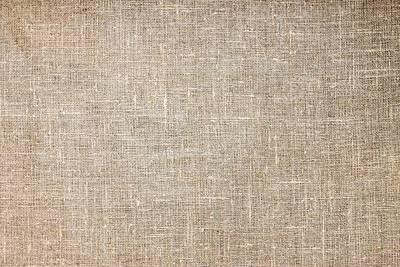 Raw Natural Linen Art Print