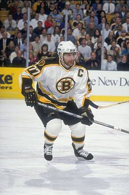 Photograph - Ray Bourque by Brian Babineau