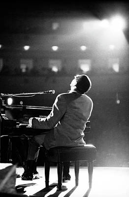 Photograph - Ray Charles At Carnegie Hall by Bill Ray