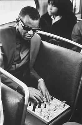 Photograph - Ray Charles by Bill Ray