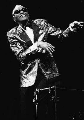 Photograph - Ray Charles Dances On Stage by Hulton Archive