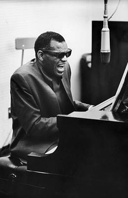 Photograph - Ray Charles In La by Hulton Archive