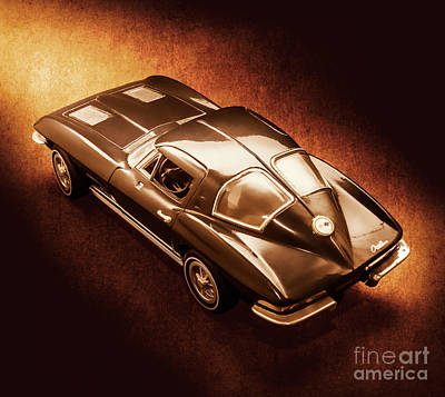 Automotive Paintings Royalty Free Images - Ray tail Royalty-Free Image by Jorgo Photography - Wall Art Gallery