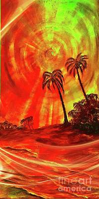Painting - Rays Of The Sun by Michael Silbaugh