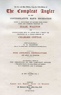 Music Royalty-Free and Rights-Managed Images - R.B. Marston - The Compleat Angler, 1888 by RB Marston