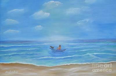 Painting - Ready Captain by Sabine ShintaraRose