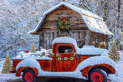 Photograph - Ready For Christmas In Hdr Detail  by Debra and Dave Vanderlaan